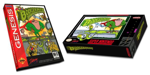 Boogerman fez fama nos consoles da década de 90 (Foto: Reprodução/Kickstarter)