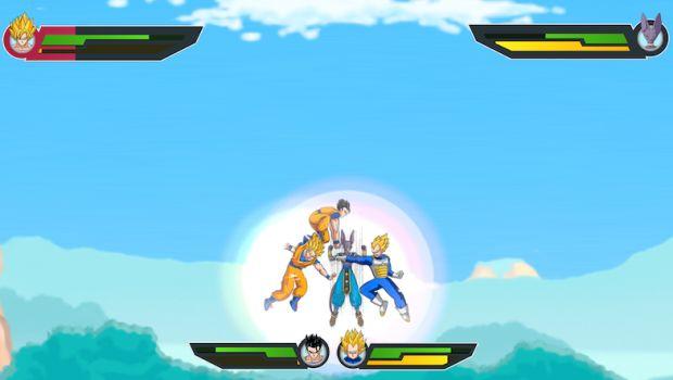 Os combates dos personagens jogáveis de Dragon Ball Z (Foto: Divulgação)