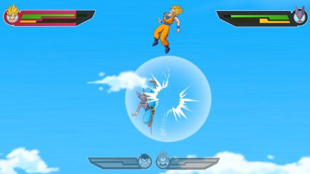 Desenvolvedoras brasileiras assistiram o filme de Dragon Ball Z para fazer o jogo (Foto: Divulgação)