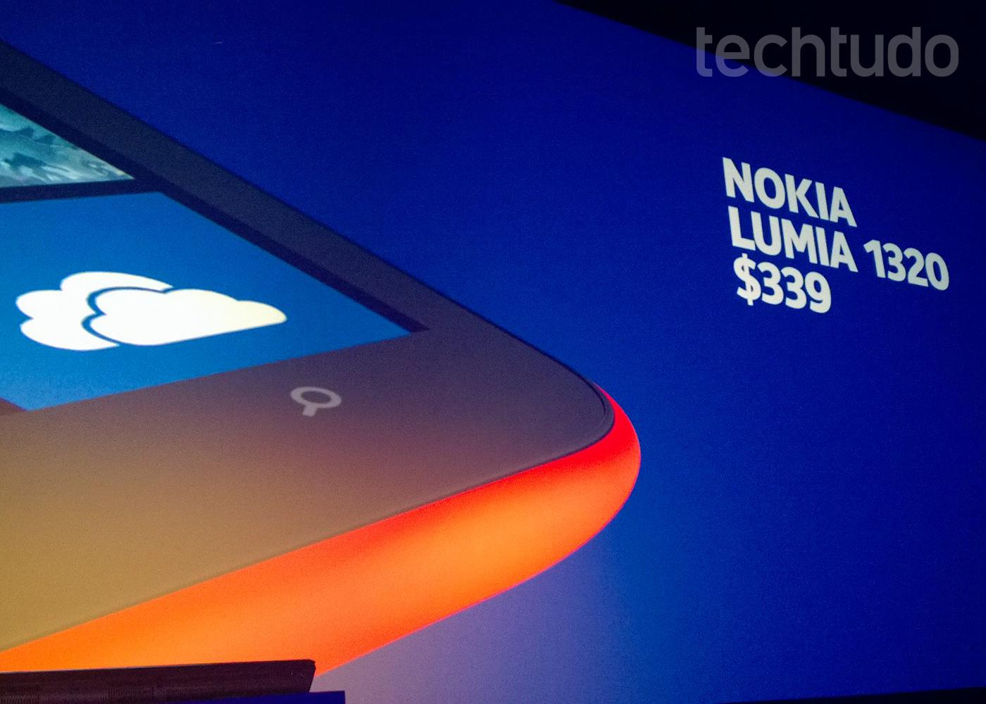 Lumia 1320 chega a US$ 339 nos Estados Unidos (Foto: Allan Melo / TechTudo)