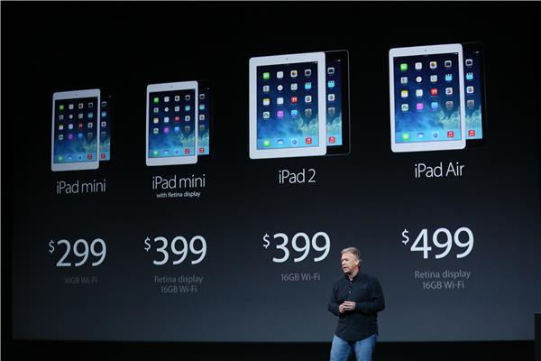 Preço da nova família de iPads (Foto: Reprodução)