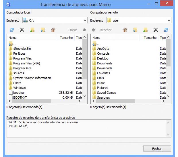 Programas como o TeamViewer facilitam a manutenção simultânea de vários computadores (Foto: Reprodução/TeamViewer)