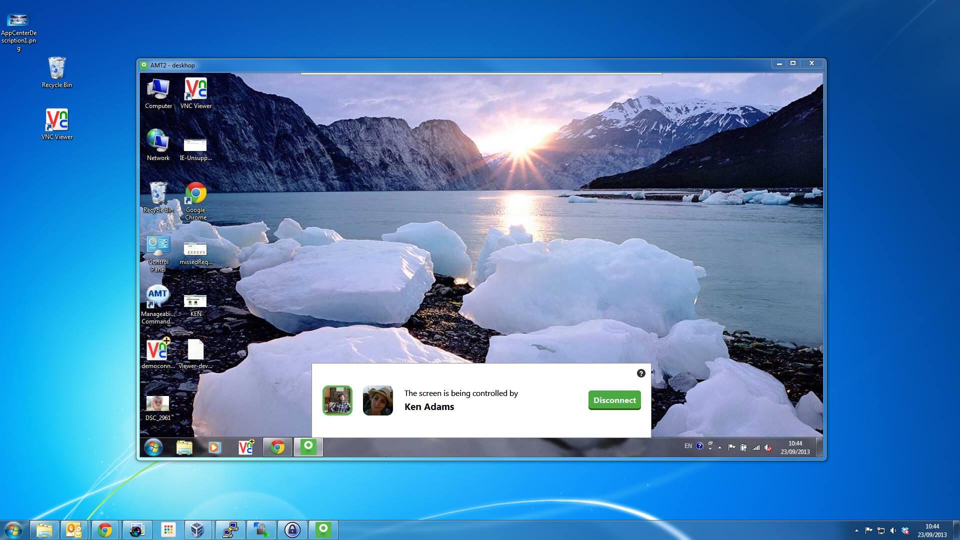 Facebook permite que usuário compartilhem telas do PC com o app Deskhop (Foto: Reprodução/Deskhop)