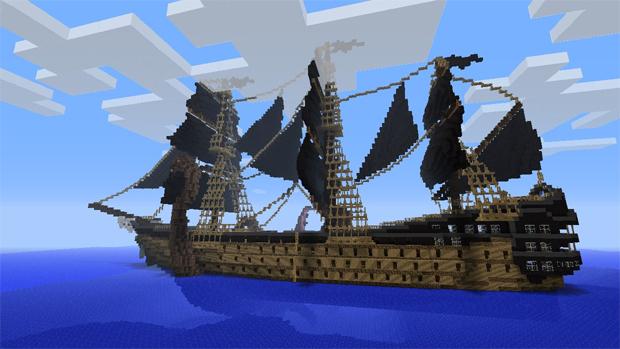 Prepare-se para conquistas os oceanos de Minecraft (Foto: planetminecraft.com)