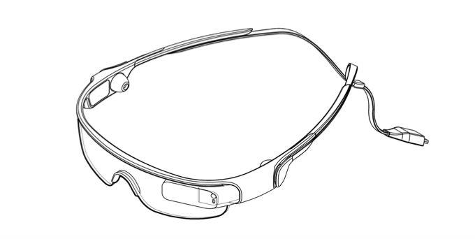 """Samsung registra patente para o """"Galaxy Glass"""", o seu óculos inteligente (Foto:Reprodução/PhoneArena)"""