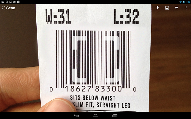 Scan - QR and Barcode Reader é bem útil (Foto: Divulgação)