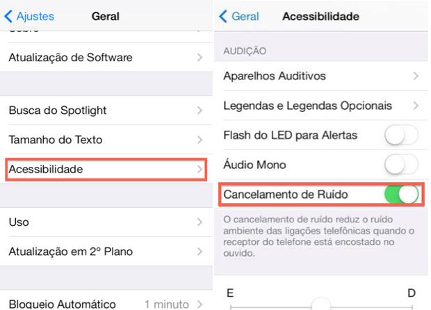 Como melhorar a qualidade do áudio em ligações telefônicas no iPhone (Foto: Reprodução/Marvin Costa)