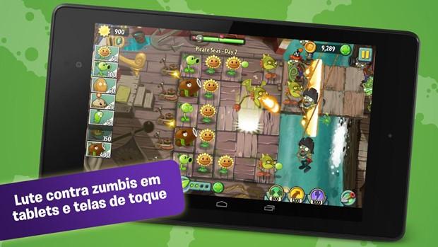 Plants vs Zombies 2 chega em tempo para o Halloween (Foto: Divulgação)