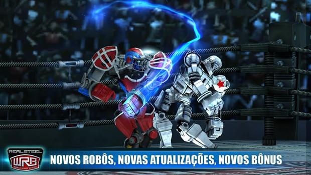 Real Steel é um jogo de robôs boxeadores com gráficos muito bonitos (Foto: Divulgação)