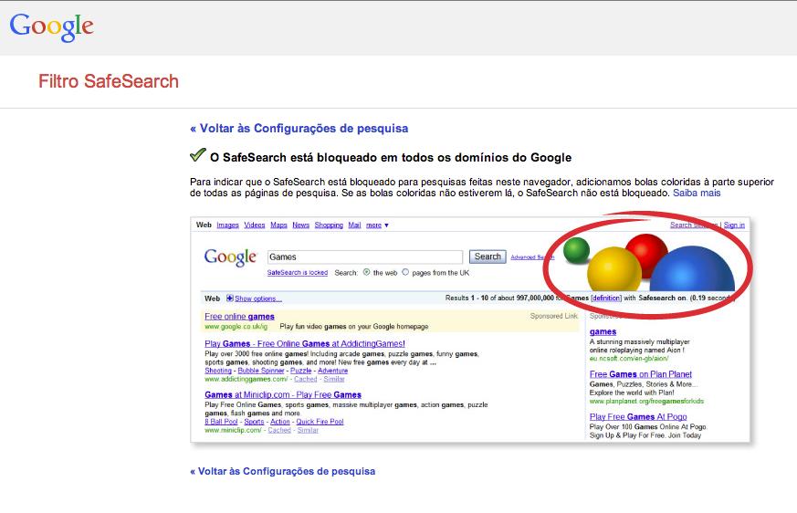 Como bloquear resultado de buscas com conteúdo adulto com o Safe Search (Foto: Reprodução/Google)
