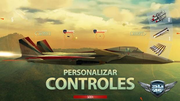 Air Supremacy é um jogo onde você luta contra alienígenas usando caças (Foto: Divulgação)