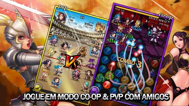 Spirit Stones é um jogo de RPG, cartas e puzzle com combates multiplayer online (Foto: Divulgação)