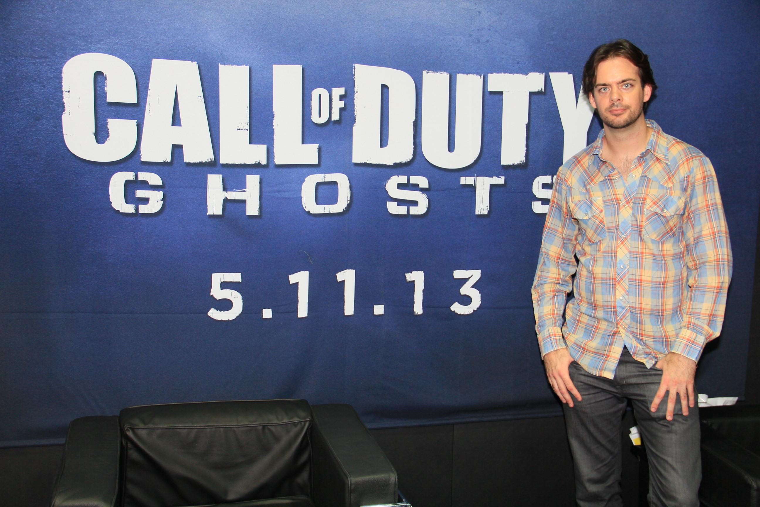 Entrevista com Chance Glasco; especialista em animação de armas para a Infinity Ward fez Call of Duty: Ghosts (Foto: Renato Bazan )