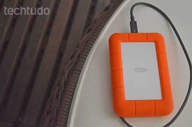 Review Hd Externo Lacie Rugged Techtudo