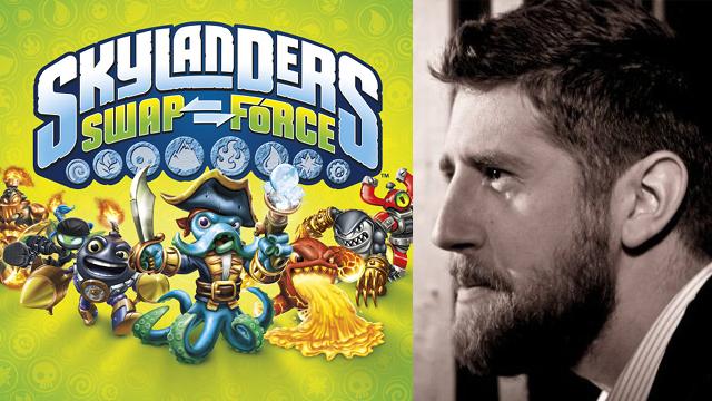 Eric Carter, produtor da Vicarious Visions, responsável pela versão de 3DS de Skylanders: Swap Force (Foto: Arte / TechTudo)