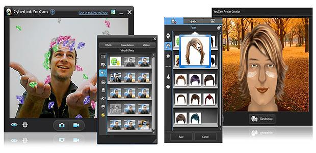 Com o CyberLink YouCam você captura imagens, insere molduras e outras animações em suas imagens (Foto: Reprodução/Karla Soares)