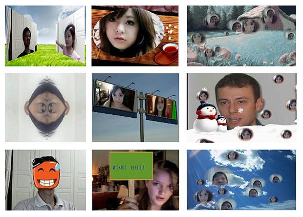 GIFs animados, molduras para fotos e efeitos engraçados são os diferenciais do GorMedia Webcam Software Suite (Foto: Reprodução/GorMedia Webcam Software)