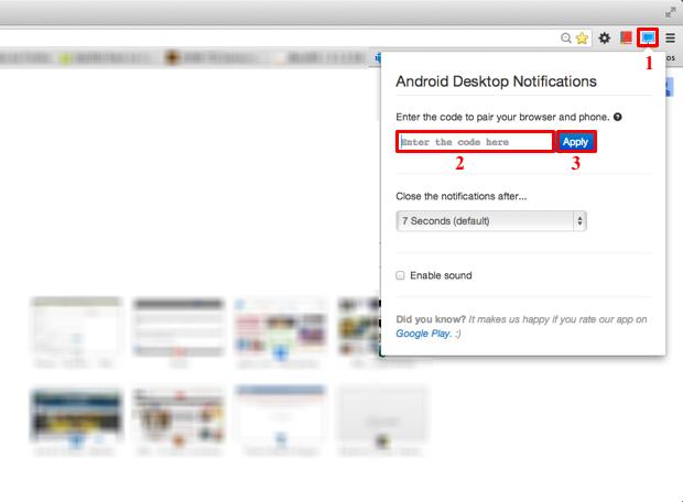 Informe o código de verificação exibido no aplicativo Android (Foto: Reprodução/Thiago Bittencourt)