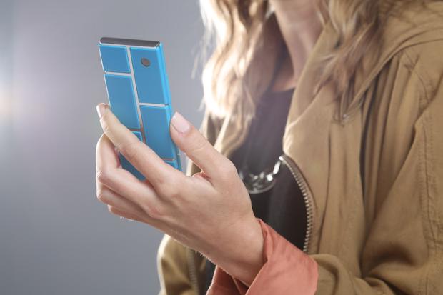Imagem do protótipo de smartphone modular da Motorola. (Foto: Divulgação)