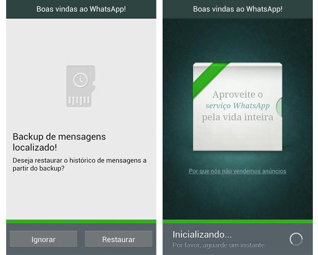 Resgatando o backup de mensagens e assinatura do WhatsApp (Foto: Arte / TechTudo)