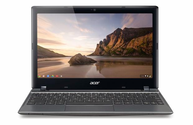Computador da Acer é o primeiro Chromebook a chegar ao Brasil (foto: Reprodução/Google)