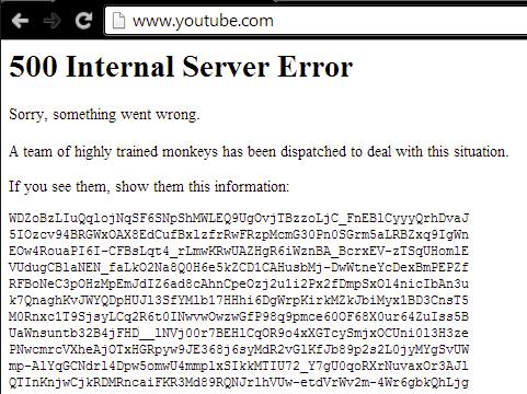 YouTube fica fora do ar no Brasil; saiba o que aconteceu (Foto: Reprodução/YouTube)