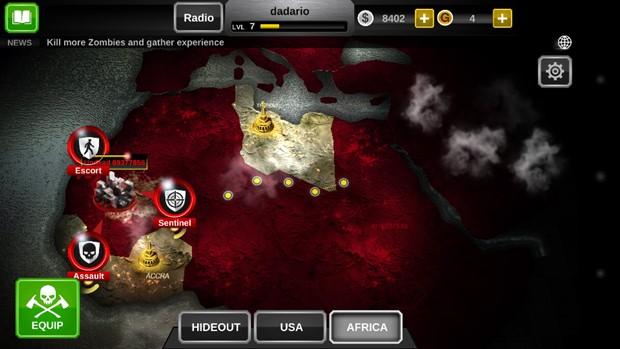 Dead Trigger 2 agora conta com modo história (Foto: Reprodução / Dario Coutinho)