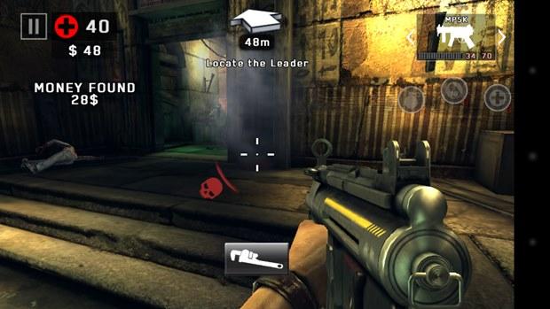 Tiro automático agora é o padrão em Dead Trigger 2 (Foto: Reprodução / Dario Coutinho)