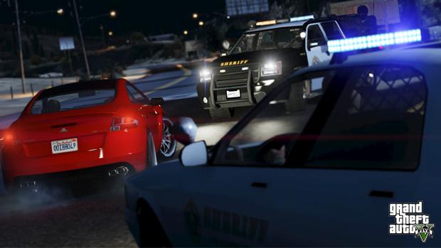 Desvie dos carros da polícia pelo caminho. (Foto: Divulgação)