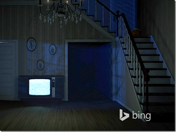 Doces ou travessuras? Sites do Bing.com mostra clássicos do cinema e do terror (Foto: Reprodução/Bing)