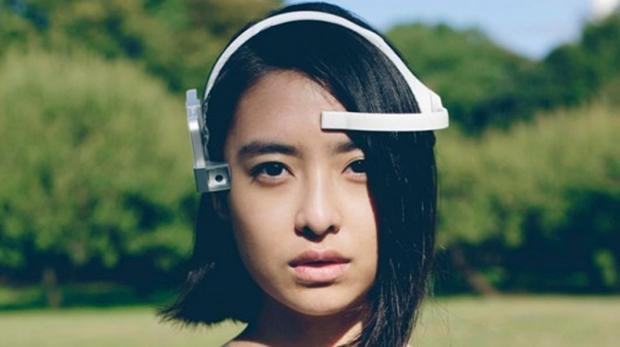Dispositivo fica perto dos olhos e se adapta à cabeça do dono (Foto: Divulgação/Neurowear)