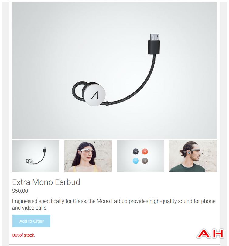 Google Glass acessórios fone (Foto: Divulgação/androidheadlines)