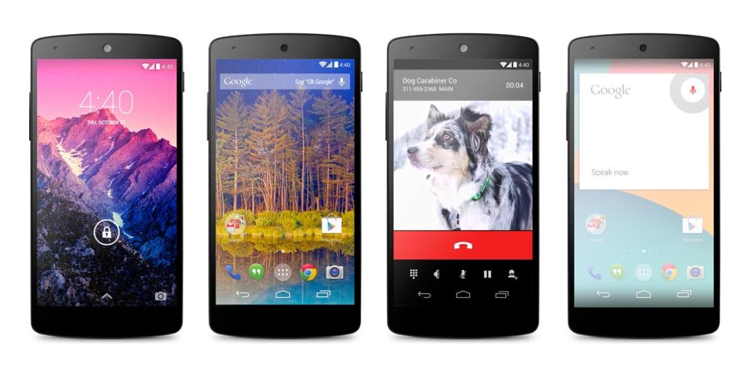 Nexus 5 é revelado sem festa de lançamento (Foto: Divulgação / Google)