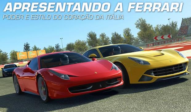 Real Racing 3 é, indiscutivelmente, o melhor game de corrida para Android (Foto: Divulgação)