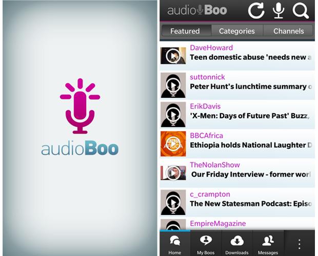 Audioboo (Foto: Reprodução/Barbara Mannara)