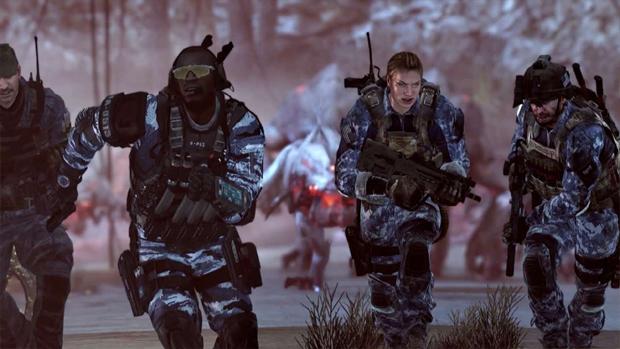 Call of Duty: Ghosts coloca 4 jogadores para enfrentar uma ameaça alienígena (Foto: gamespot.com) (Foto: Call of Duty: Ghosts coloca 4 jogadores para enfrentar uma ameaça alienígena (Foto: gamespot.com))