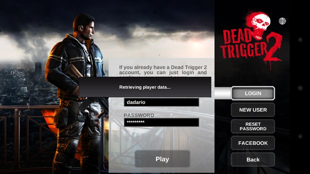 Dead Trigger 2 salva o seu progresso na nuvem (Foto: Reprodução / Dario Coutinho)
