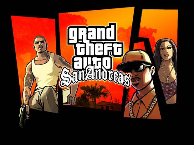 Grand Theft Auto San Andreas (Foto: Divulgação)
