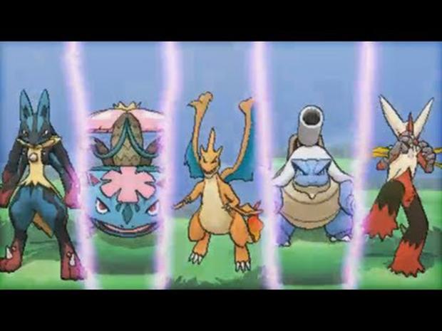 Pokémon X e Y: saiba como funcionam as mega evoluções do jogo (Foto: Reprodução)