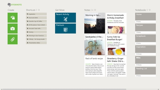 Evernote Touch (Foto: Divulgação/Evernote)