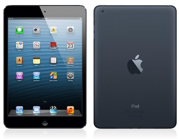iPad Mini tem bordas estreitas e é portátil, mas resolução é menor que do iPad grande (Foto: Divulgação)