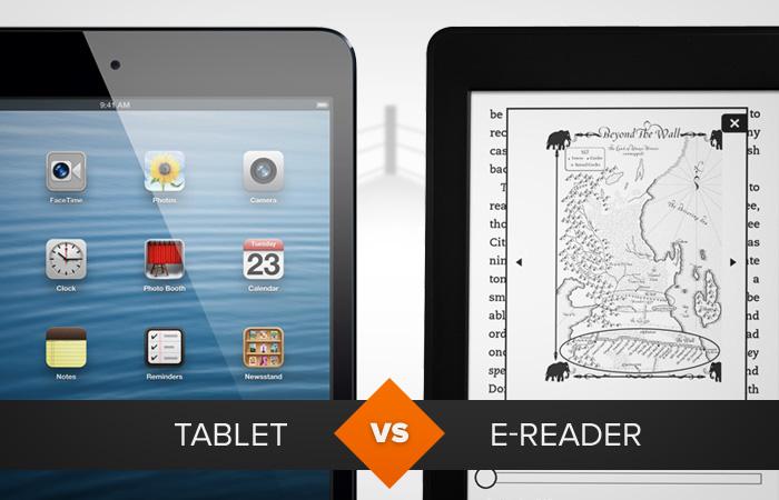 Tablet ou e-Reader? Confira qual gadget é o mais indicado para a sua necessidade (Foto: Arte / TechTudo)
