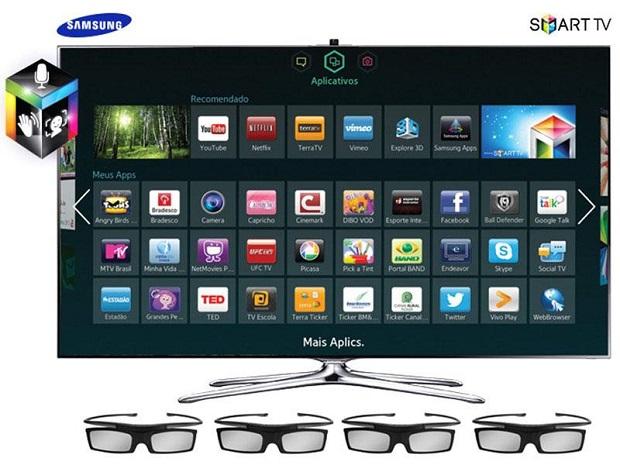 Entretenimento máximo com este modelo da Samsung (Foto: Divulgação)