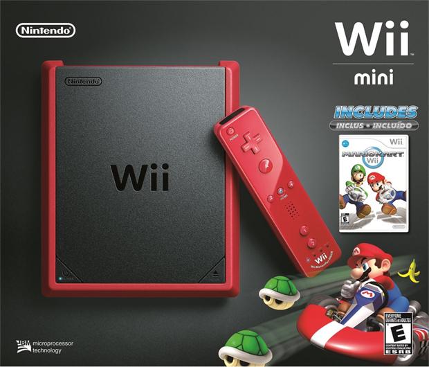 Nintendo lançará Wii Mini nos EUA, sem internet e mais barato Wii-mini-mario-kart-estados-unidos