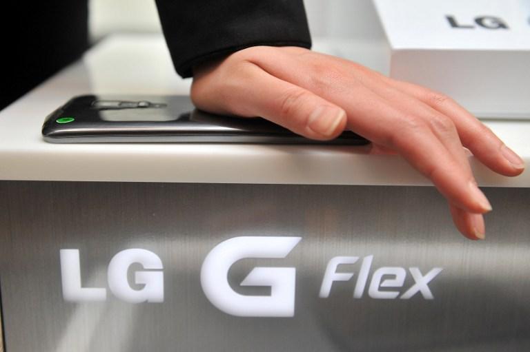 G Flex é, realmente, flexível (Foto: AFP)
