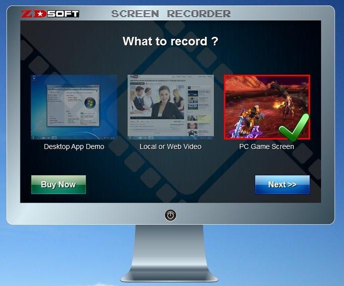 Com uma bela apresentação, o ZD Soft Screen Recorder possui controles simples e intuitivos (Foto: Reprodução/ Daniel Ribeiro)