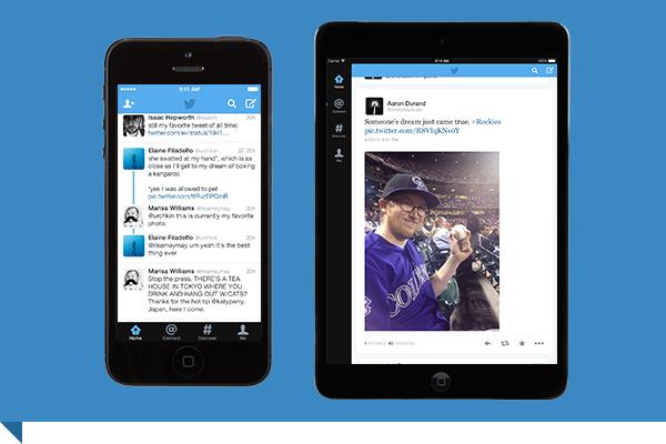 Twitter também redesenhou seu aplicativo para iOS 7 e agora permite links compartilhados no Safari e busca de tuítes utilizando a Siri. (Foto: Divulgação / Twitter)