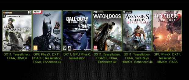 Novos jogos usam diversas tecnologias já embarcadas nos últimos lançamentos de GPU da Nvidia (Foto: Divulgação/Nvidia)