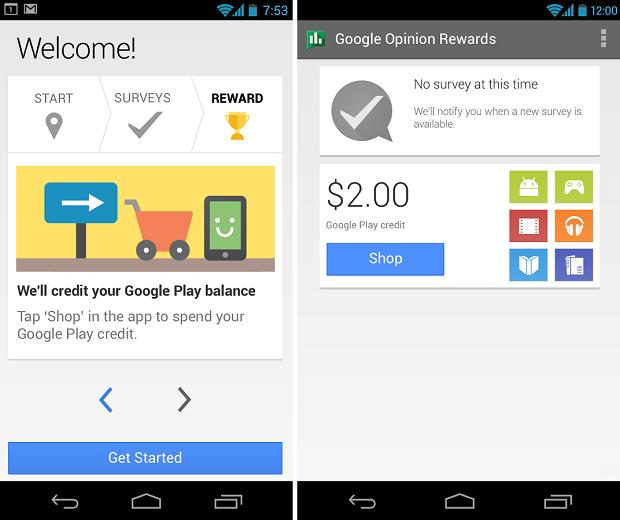 App do Google dá créditos a quem responde enquetes (Foto: Divulgação)