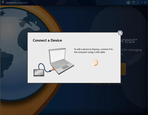 Conecte o GPS ao computador através do cabo USB (Foto: Reprodução/Carolina Ribeiro)